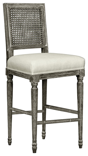 Magnificent Bungalow 5 Annette Counter Height In Gray Unemploymentrelief Wooden Chair Designs For Living Room Unemploymentrelieforg