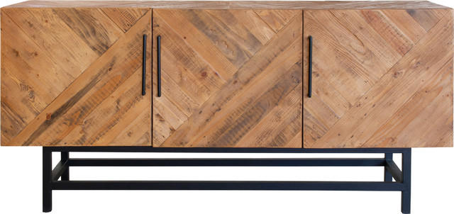 Imola Sideboard 3 Doors Industrial Buffets And Sideboards By