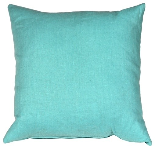 Pillow Decor Tuscany Linen 40 X 40 Throw Pillows Contemporary Fascinating Pillow Decor Ltd