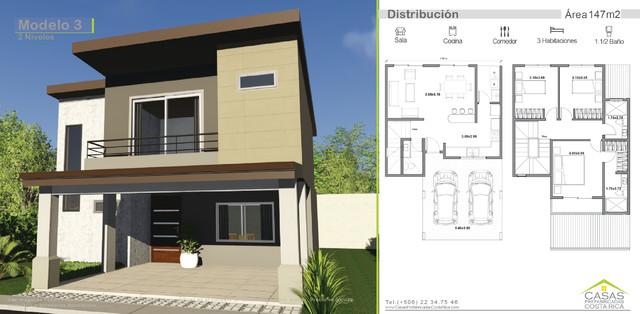 Casas prefabricadas de dos pisos costa rica for Casas de dos pisos sencillas