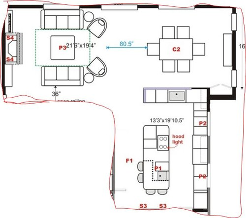 Help With Galley Kitchen Layout