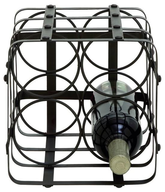 Gwg Outlet Metal Wine Holder X