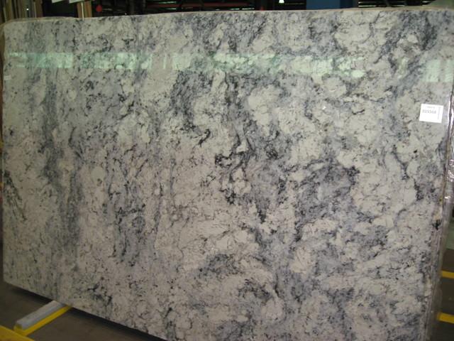 White Springs Granite Slab : New white spring granite