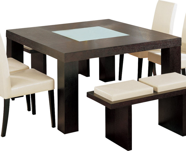 Global Furniture USA Lony Square Dining Table In Wedge