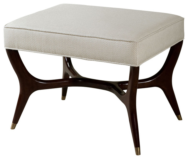 Keno Brothers Furniture >> Theodore Alexander Keno Bros Otto Ottoman - Transitional ...