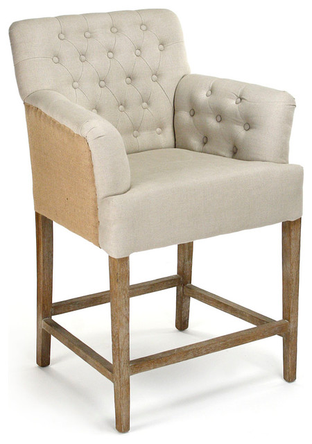 Barrois Counter Stool Transitional Bar Stools And