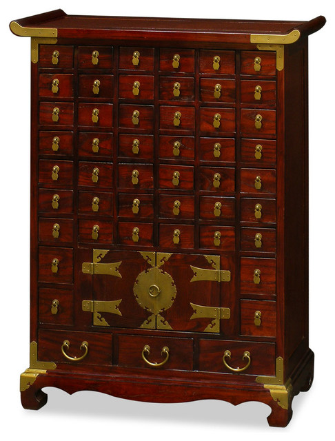 China Furniture and Arts Korean Medicine Chest - Accent Chests And Cabinets | Houzz