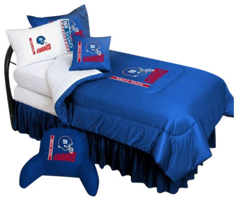 New York Giants Nfl Bedding Complete Set Bedding By