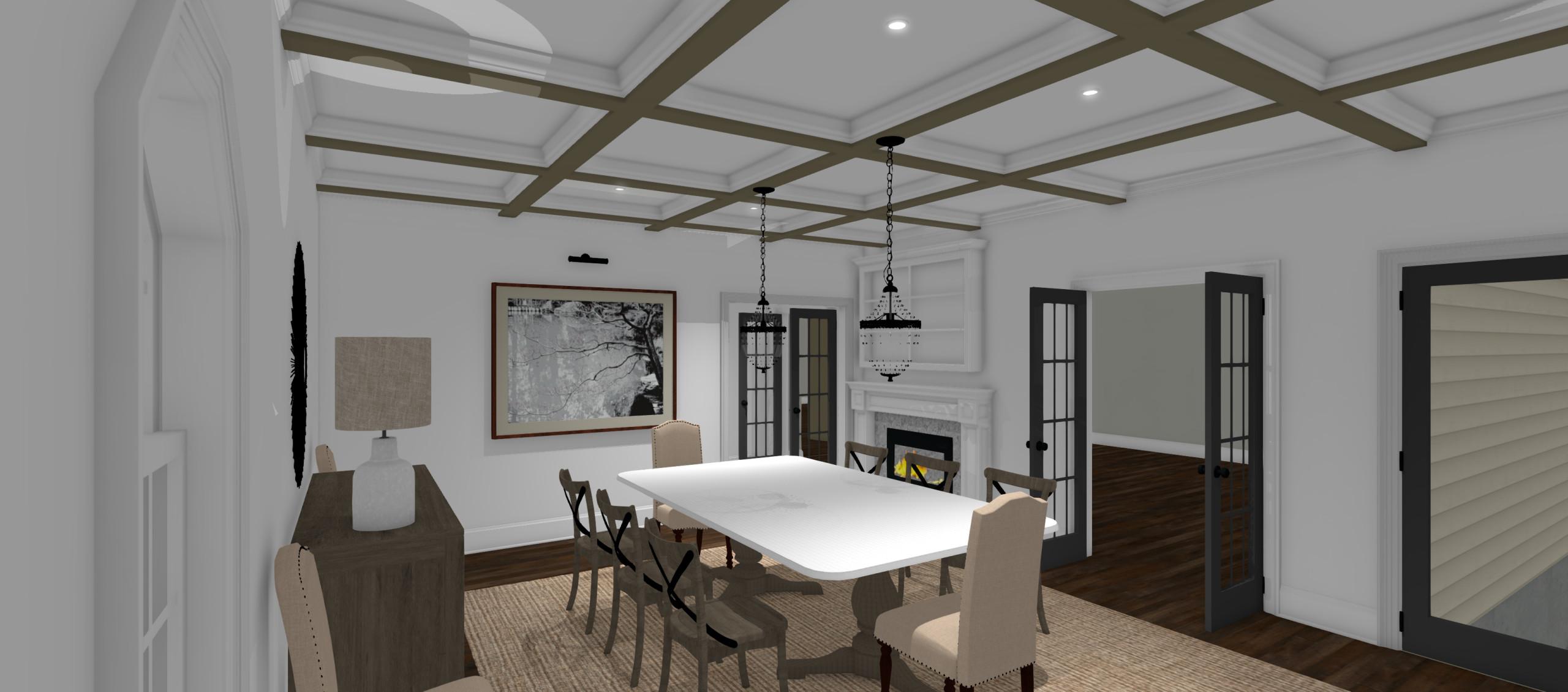 Conceptual Dining Room Design