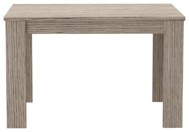 Jesi Extendable Table, Grey Wood Finish, 170 cm