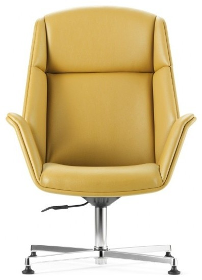 U Lounge High Back Chair With Swivel Tilt Armchairs And