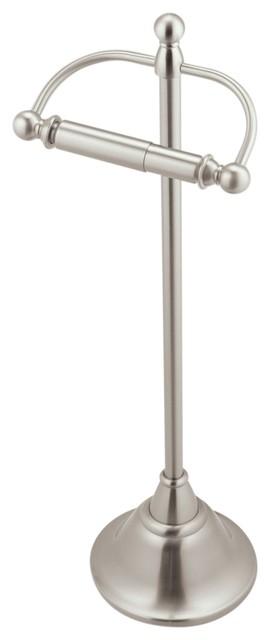 DN4150BN,Brushed Nickel Finish Stockton Pivoting Toilet paper Holder Moen
