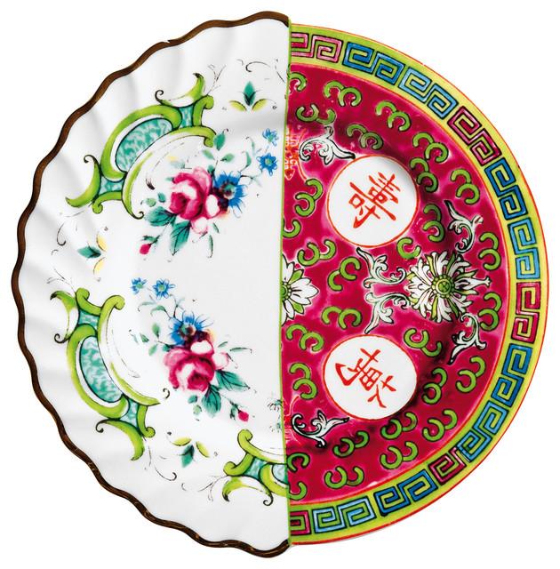 """Hybrid-Eudossia"" Fruit or Desser Plate, Porcelain"