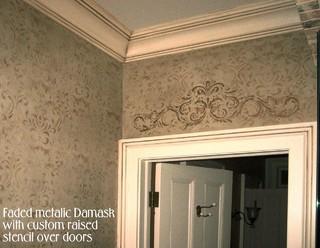 Classic Damask Newark Von Ginny Vincz Decorative Finishes