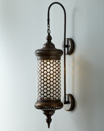 Moroccan Metal Sconce traditional wall sconces