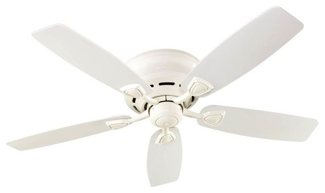 Sea Wind Ceiling Fan, White Finish.