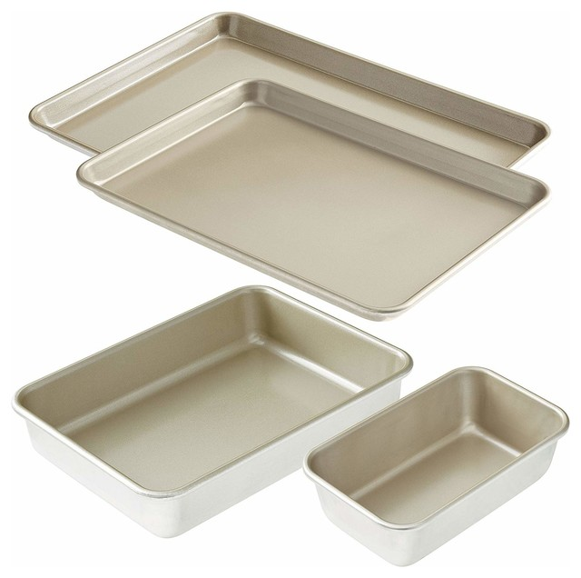 American Kitchen Cookware 4 Piece Nonstick Bakeware Set