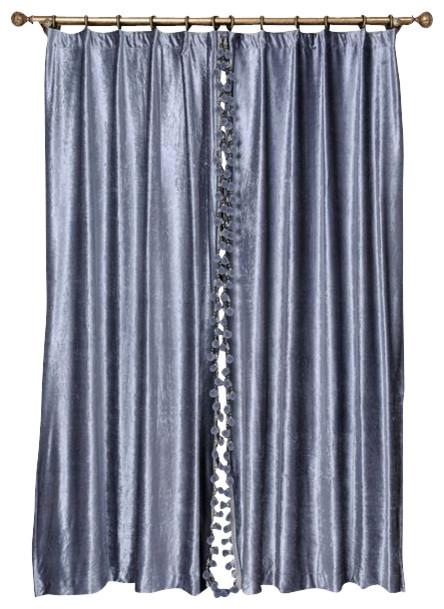 Curtains Ideas blue velvet curtains : Blue Velvet King2 - Modern - Curtains - by Ulinkly
