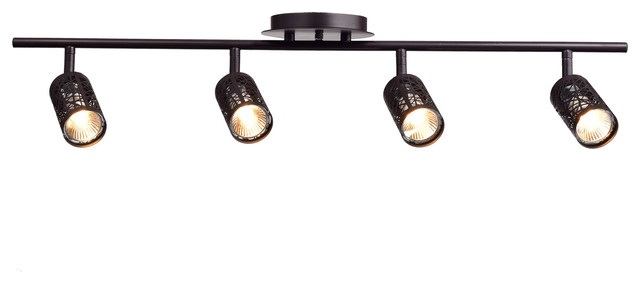 Claxy vintage oil rubbed bronze metal track lighting ceiling vintage oil rubbed bronze metal track lighting ceiling light fixture 4 lights industrial track mozeypictures Choice Image