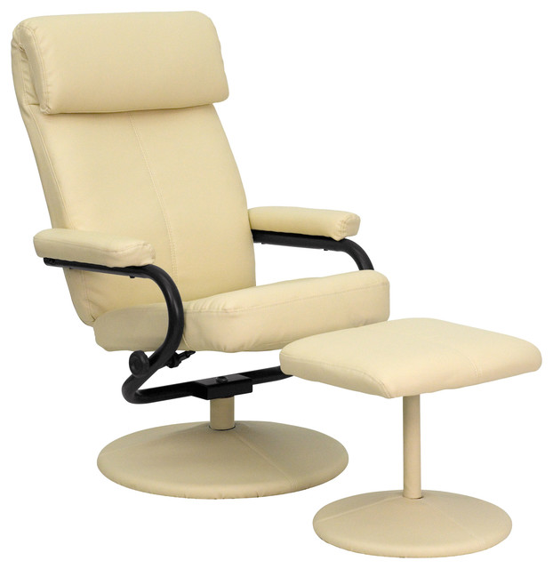 headrest cream leather recliner and ottoman leather recliner chairs