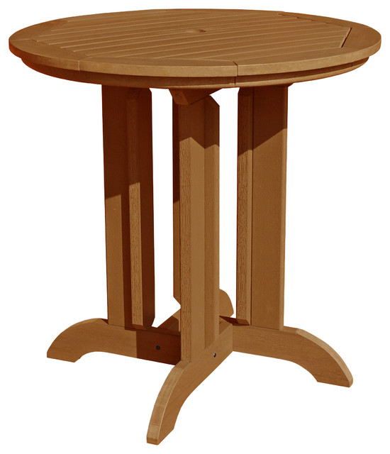 Round 36 39 39 Counter Dining Table Traditional Outdoor Dining Tables