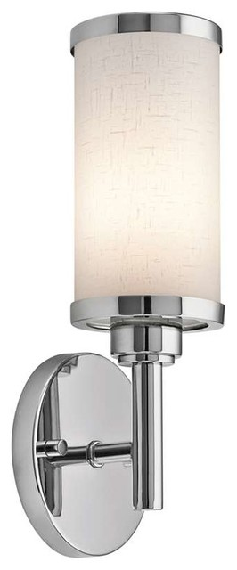 Transitional Chrome Wall Sconces : Kichler Lighting 10680CH Transitional Wall Sconce In Chrome - Transitional - Wall Sconces - by ...