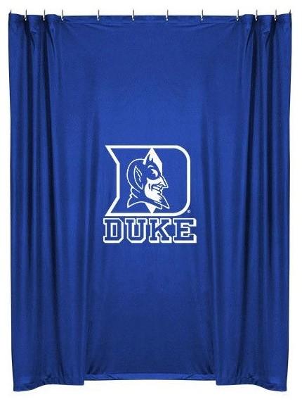 Team Curtains Teamcurtainscom: Duke Blue Devils Shower Curtain