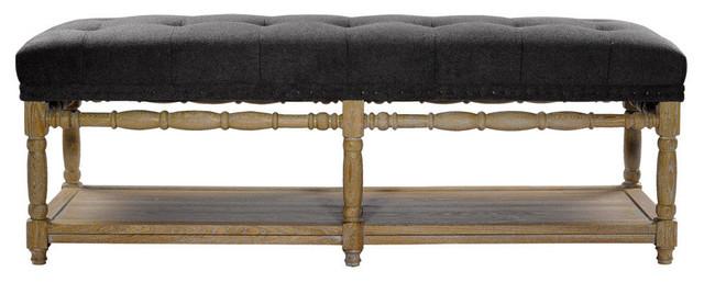 Napa Wool Bench.