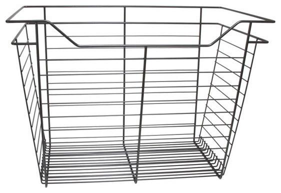 """Closet Wire Drawer Basket, 23""""x17""""x14"""", Bronze."""