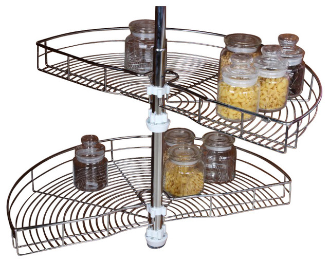 ... Wire Blind Corner Storage transitional-pantry-and-cabinet-organizers