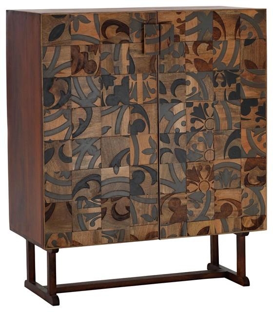 Nidra Wood Sideboard