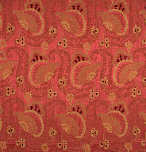 Scalamandre Fabric Anemone Wild Rose 26387-001