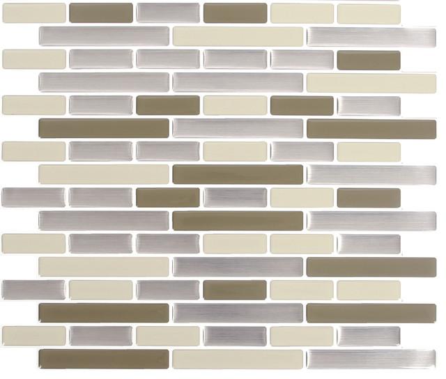 Peel & Impress Oblong Tile, Desert Sand Oblong, 11x9.25, Oblong