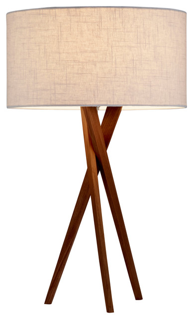 Brooklyn Table Lamp Midcentury Table Lamps by Adesso