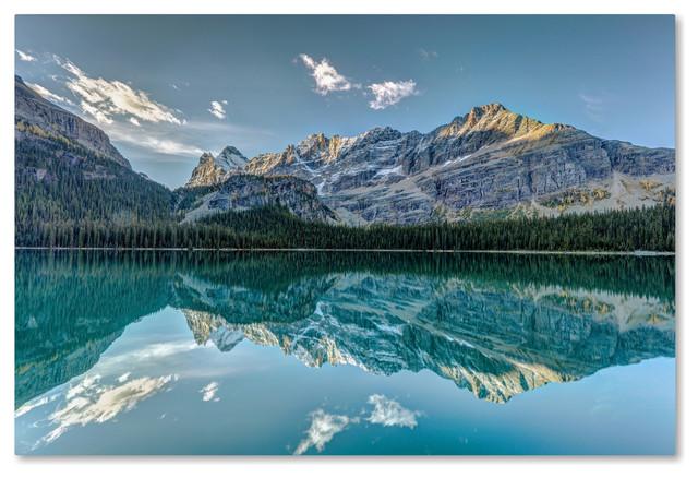 Pierre Leclerc &x27;o&x27;hara Lake Reflections At Dawn&x27; Canvas Art, 47x30.