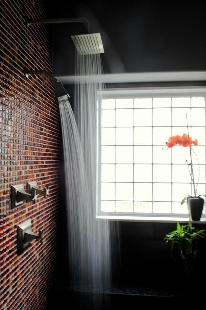 Dramatic Master Bathroom