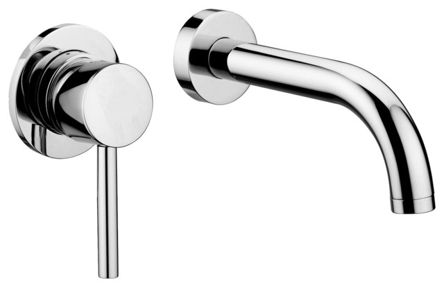 Bathroom Faucets Single Lever stick sk 007.80 wall mounted single lever faucet with long spout