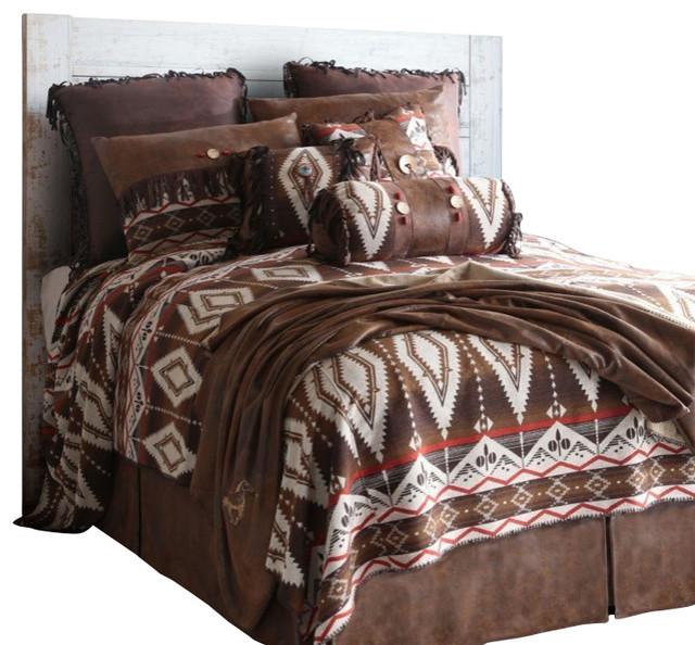 Pecos Trail Southwest Bedding Set  Twin southwestern bedroom furniture sets. Pecos Trail Bedding Set   Southwestern   Bedroom Furniture Sets