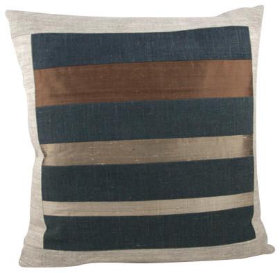 """Robert Beige Decorative Pillow, 20""""x20""""."""