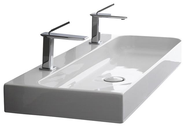 Unit 100 Ceramic Bathroom Sink