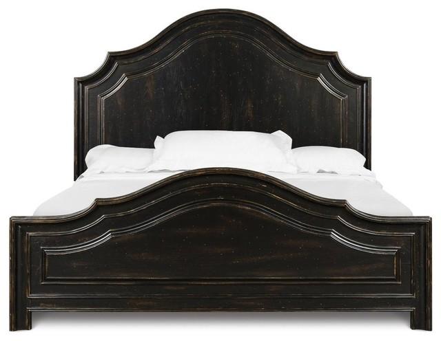 Wonderful Magnussen Furniture Elkin Valley Panel Bed In Antique Black B Rustic  Furniture
