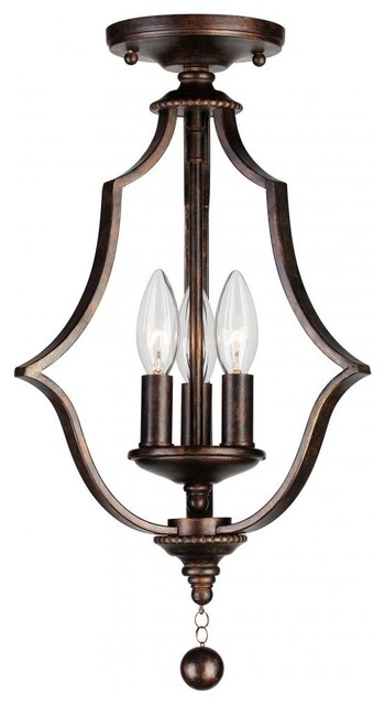 Parson 3 Light Flush Mount.