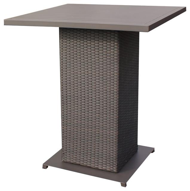 Shop Houzz TKClassics Napa Pub Table Outdoor And Bistro Tables