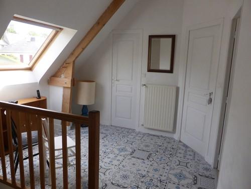 Choix de couleur escalier et couloir Couleur porte interieure avec mur blanc