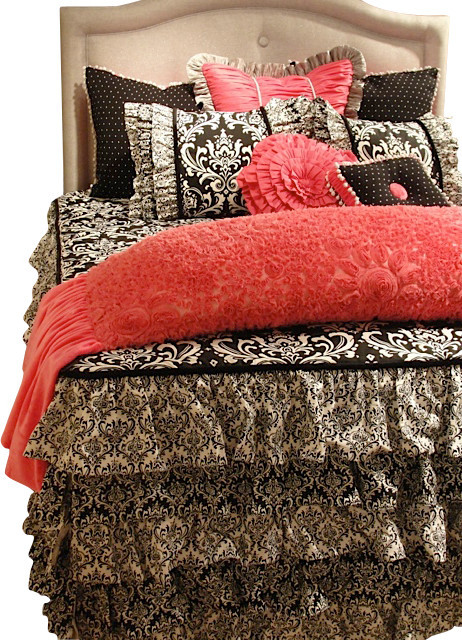 Shop Houzz Artistic Sensations Pink Black And White