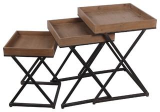 Privilege 89014 3 Piece Nesting Tables,xDesign
