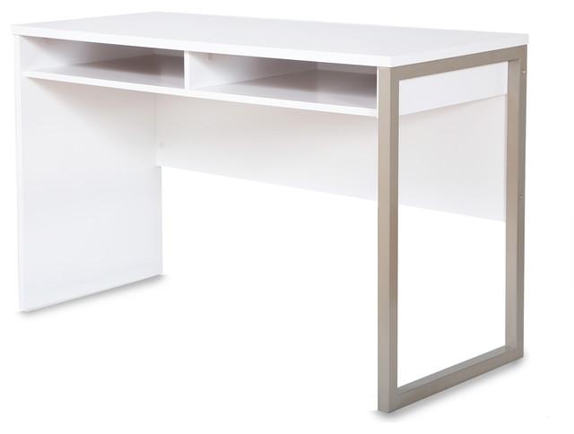 South Shore Interface Desk, Pure White.