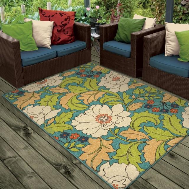 Bright Dotted Tillis Indoor/outdoor Area Rug, 7&x27;8x10&x27;10.