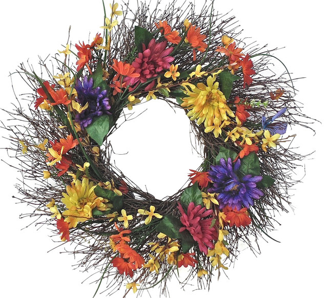 All-Weather Garden Wreath, Small.