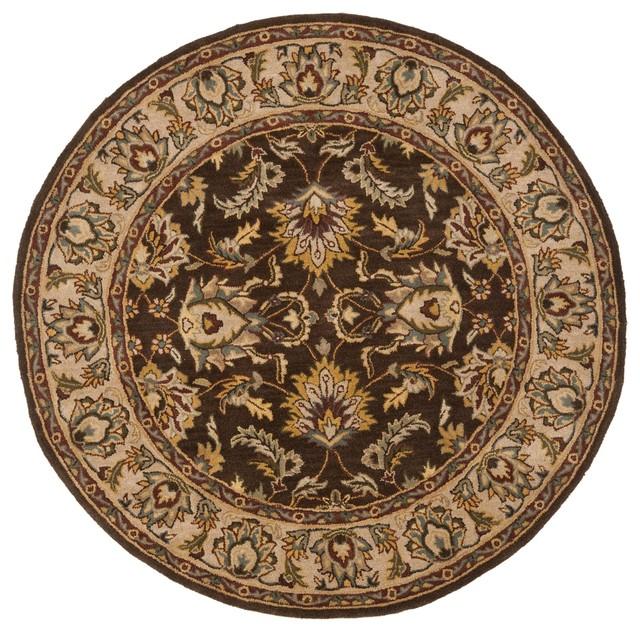 World Map Rug Costco: Safavieh Heritage Brown / Ivory Traditional Rug